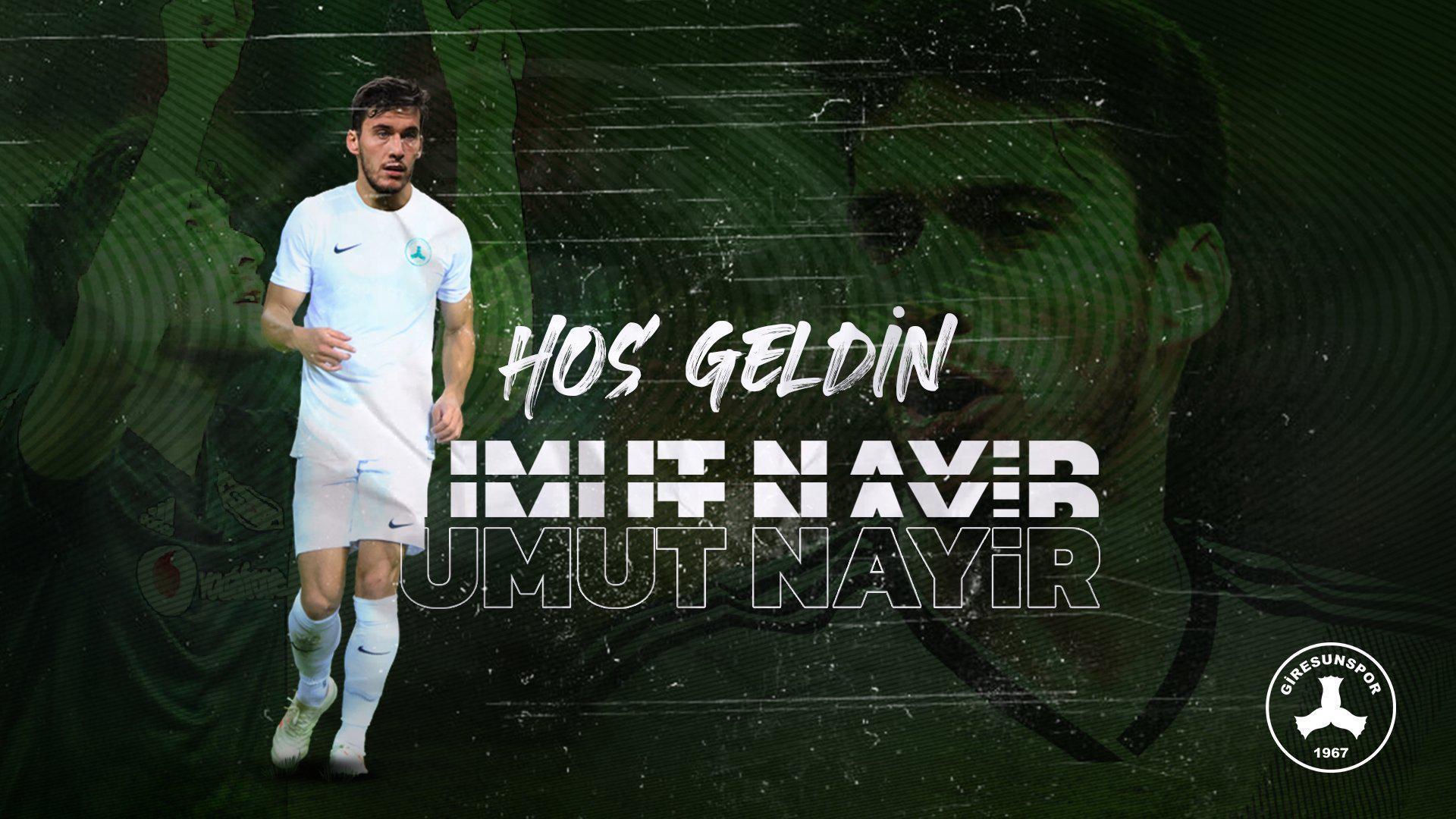 Beşiktaştan ayrılan Umut Nayir, Giresunsporda
