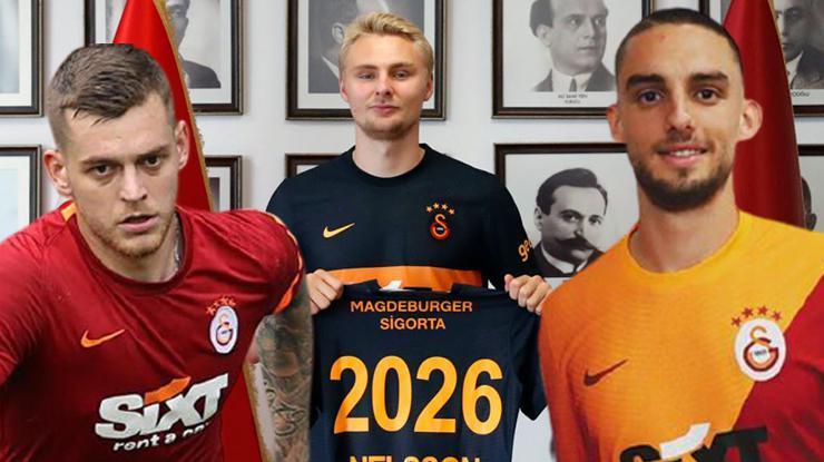 Galatasaray transfere 20 milyon Euro harcadı, kadro gençleşti!