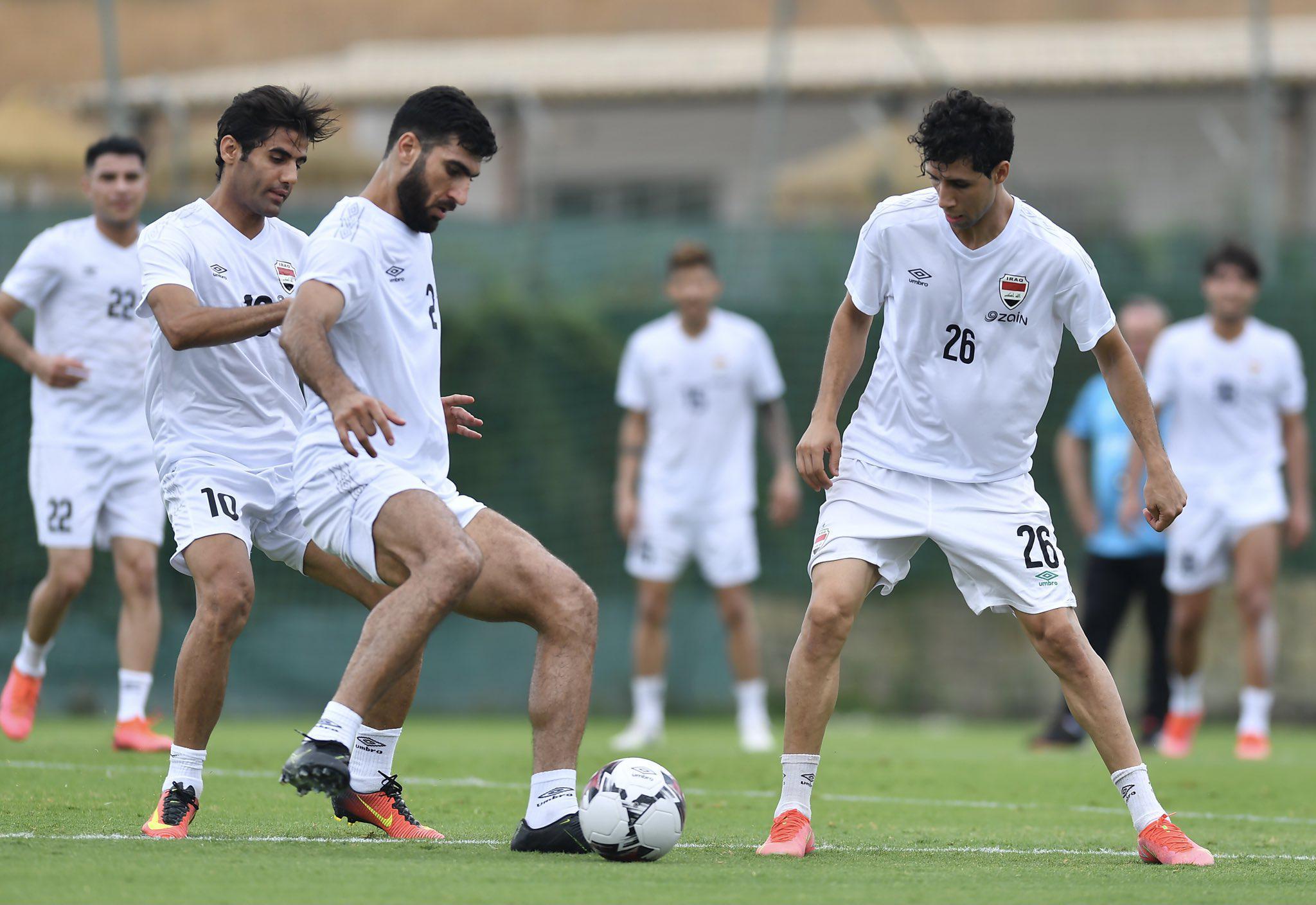 Irak A Milli Futbol Takımı, kamp için Kayseriye geldi
