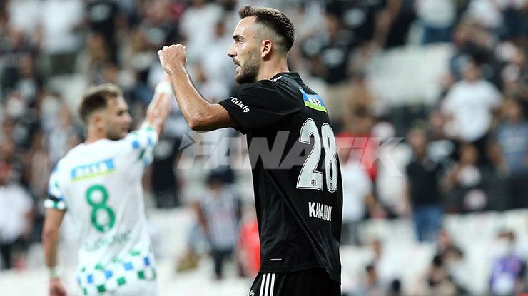 Kenan Karaman, Beşiktaş kariyerine katkıyla başladı