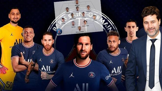 Messi PSGyi seçti! İşte yeni Los Galacticos1 milyar Euroluk