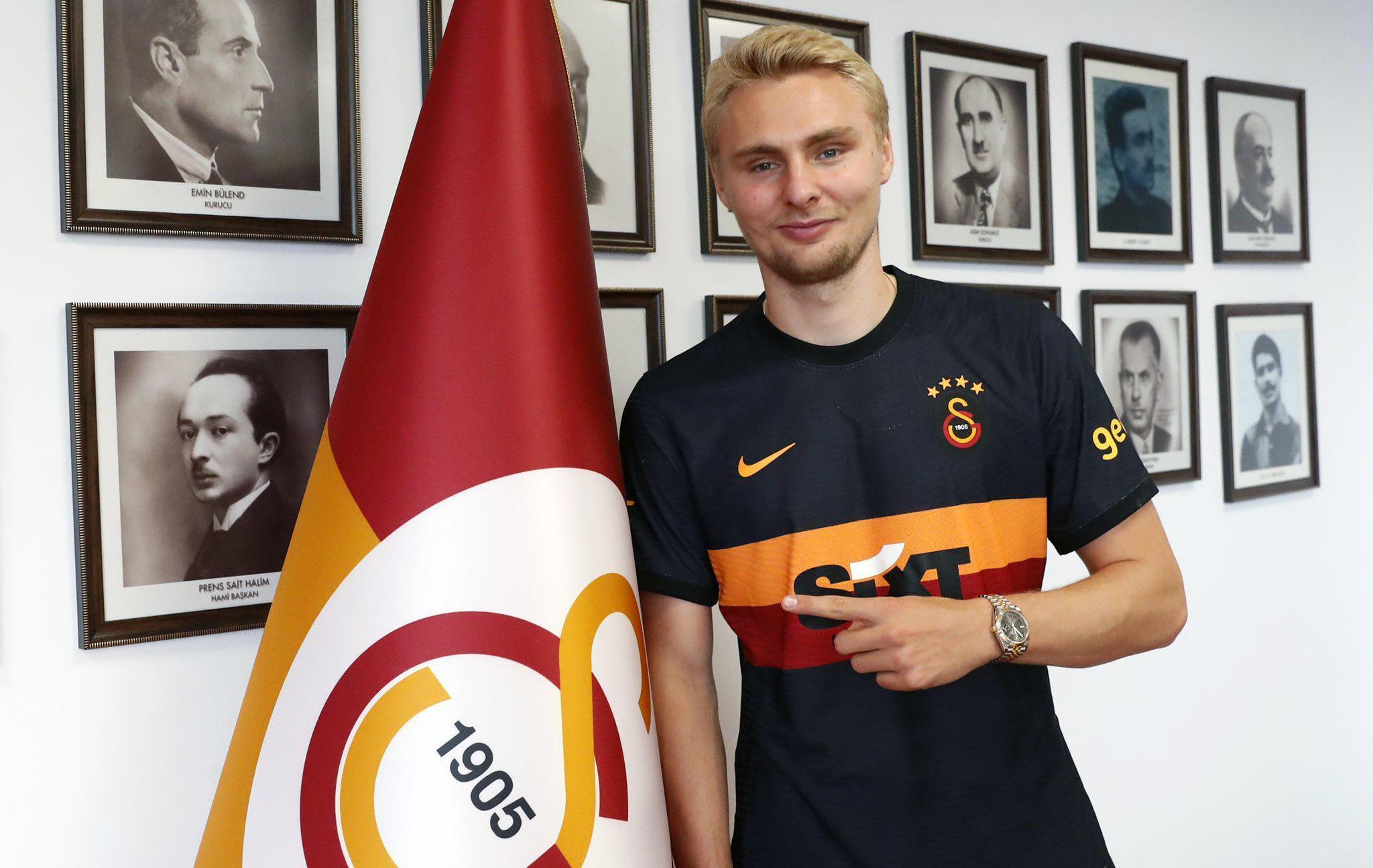 Son dakika Galatasaray haberi: Victor Nelsson resmen Galatasarayda!