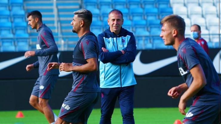 Trabzonspor, Molde maçına hazır