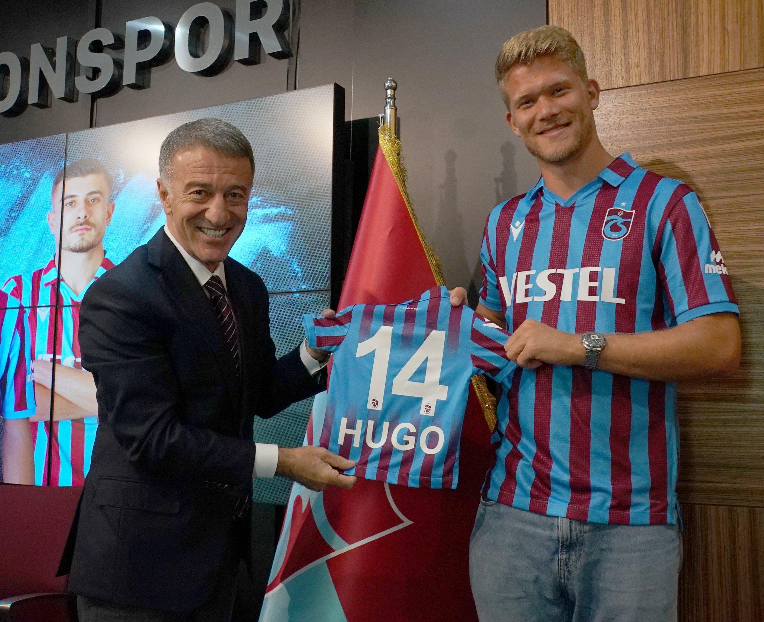 Trabzonsporda Andreas Cornelius coşkusu