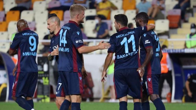 Trabzonsporda Cornelius ilk maçına çıktı